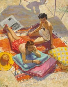 Lavery_On_the_beach